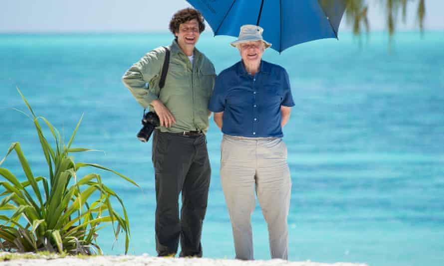Anthony Geffen and David Attenborough