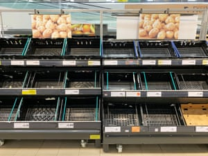 Shelves picked clean at Sainsbury's in Scarborough
