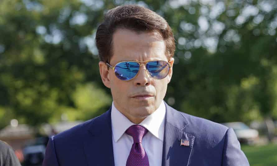 Anthony Scaramucci: foul-mouthed defender of Donald Trump.