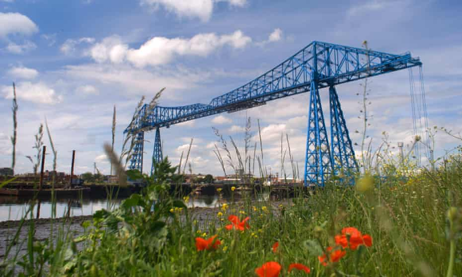 The Transporter Bridge, Middlesbrough.