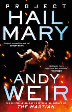 Project Hail Mary by Andy Weir book cover