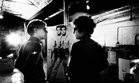 Andy Warhol and Bob Dylan.