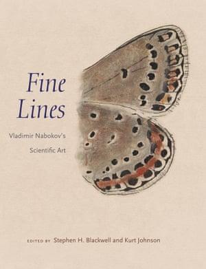 The cover of Fine Lines: Vladimir Nabokov's Scientific Art