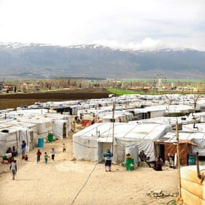 One of the camps in Lebanon