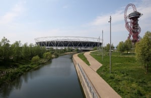 A general view of the Olympic Stadium, London.