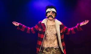 Unforgivable omission … Natalie Palamides's show Nate.
