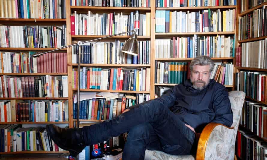 Karl Ove Knausgaard at home in Sweden