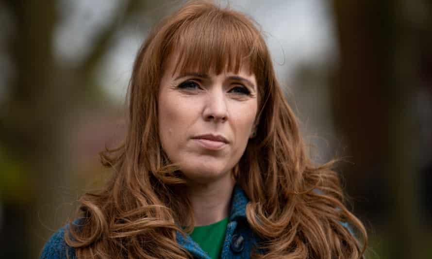 Deputy Labour leader Angela Rayner.