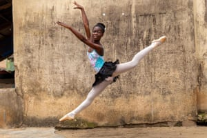 The school is the brainchild of self-taught ballet lover Daniel Ajala, who opened its doors in late 2017 after studying the dance moves online and in books