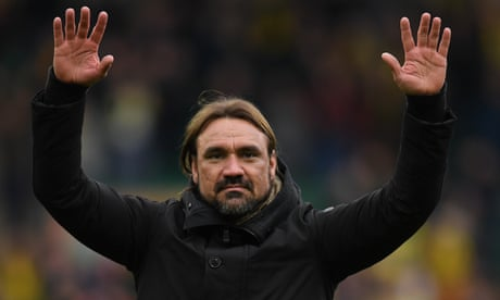 Daniel Farke in the saddle as Norwich gallop to the finishing line | Stuart James