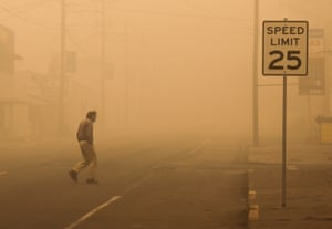 Molalla, Oregon, which was badly hit by the fires.
