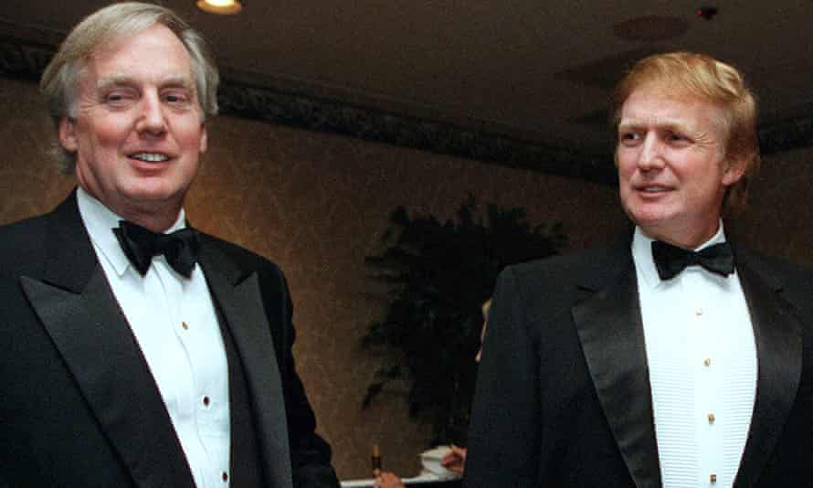 Robert and Donald Trump in 1999.