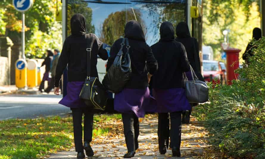 Students at the Tauheedul School in Blackburn