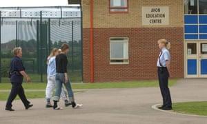 Child inmates at Rainsbrook