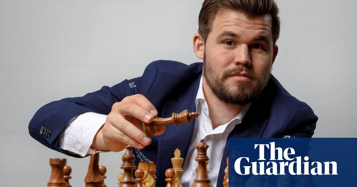 Magnus Carlsen: 'You need to be very fortunate to be No 1 in fantasy football'
