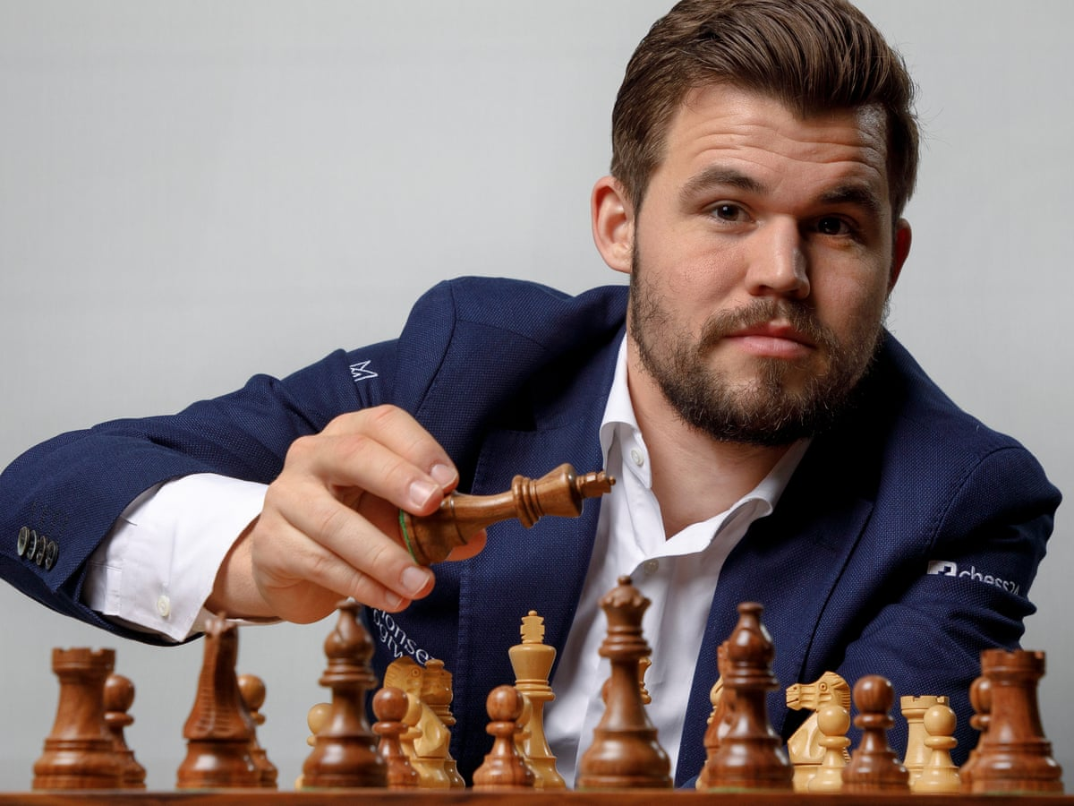 Magnus Carlsen You Need To Be Very Fortunate To Be No 1 In Fantasy Football Magnus Carlsen The Guardian