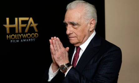 Plea to film fans … Martin Scorsese at the Hollywood Film Awards last month.