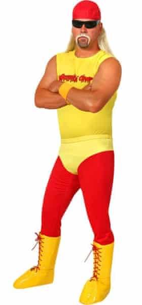 Hulk Hogan halloween costume