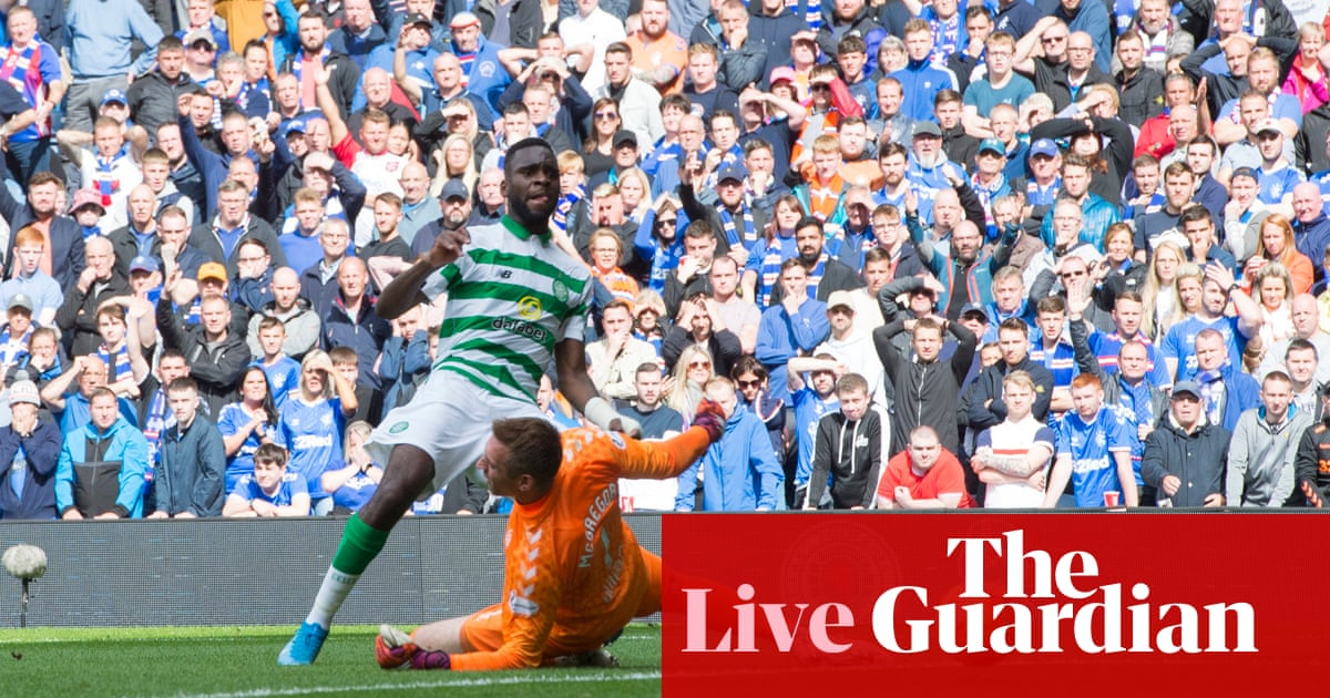Rangers v Celtic: Scottish Premiership – live!