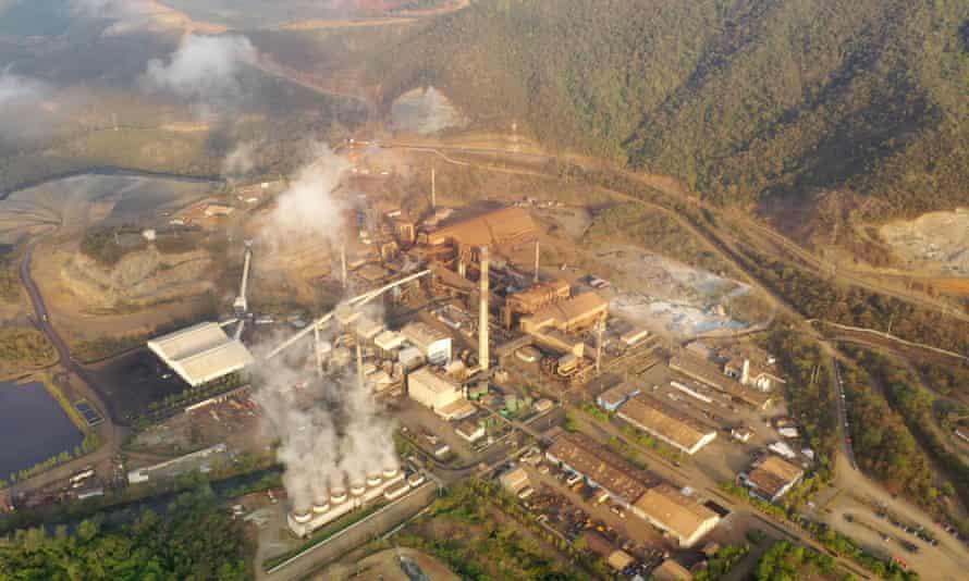 The Fenix site's mining licence covers 250,000 sq km near Lake Izabal, Guatemala.