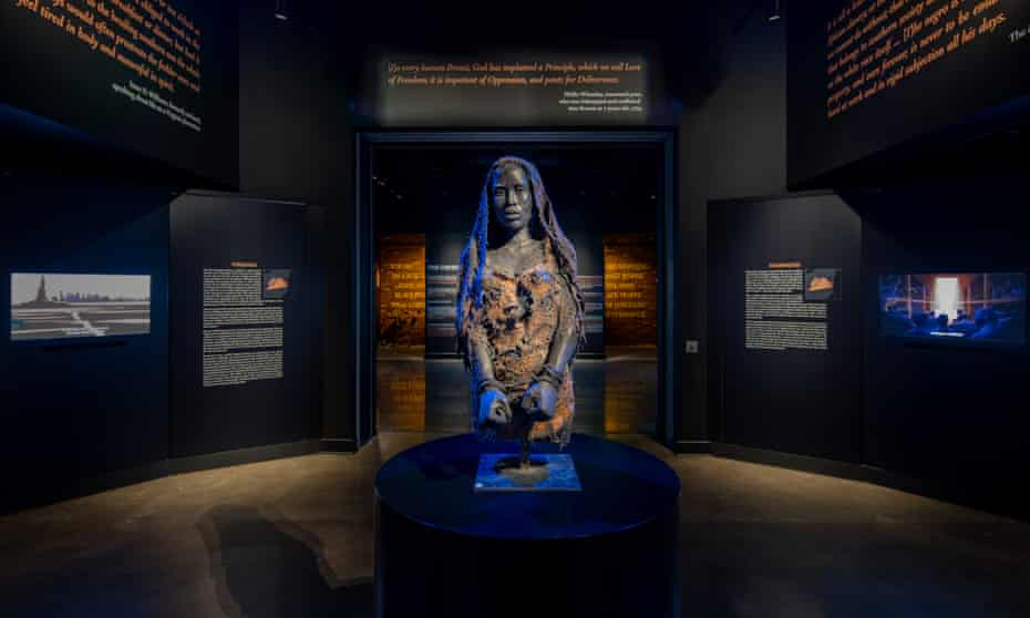 The Legacy Museum shows visitors elements of America's long history of racial injustice – slavery, lynching, segregation, police killings of Black teens and the societal addiction to putting Black people behind bars.