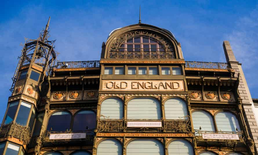 Old England Building, exterior