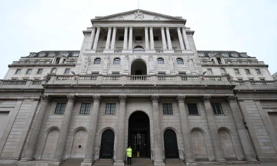 The Bank of England's latest forecast of the impact of Covid shows a reduction of 1.7% of GDP to the economy up to 2022.