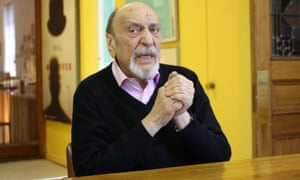 Milton Glaser pictured in 2014. 'The possibility for learning never disappears,' he said.