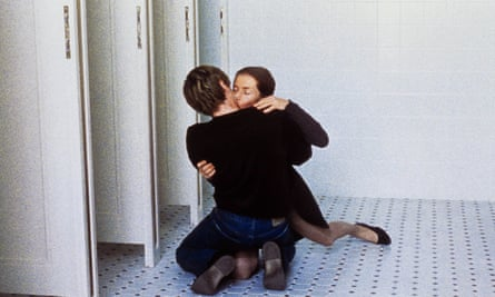 Benoit Magimel and Isabelle Huppert in The Piano Teacher.