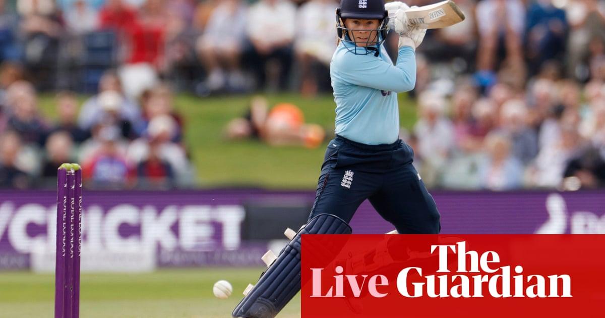 England v New Zealand: fifth women's ODI – live!