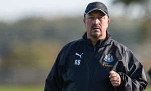 Rafael Benítez's Newcastle side prop up the Premier League table with two points from nine games.