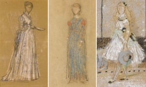 Whistler pastel sketches given to Fitzwilliam Museum