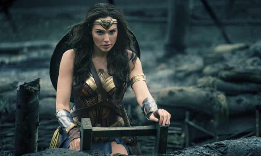 Gal Gadot in a scene from Wonder Woman.