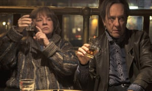 The 'terrifically engaging' Melissa McCarthy as Lee Israel, with Richard E Grant as Jack Hock in Can You Ever Forgive Me?