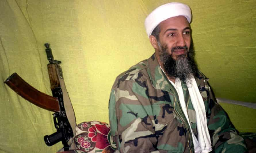 Osama Bin Laden in southern Afghanistan in 1998.