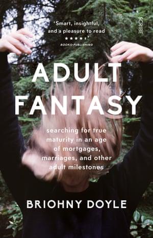 Cover image for Australian author Briohny Doyle's book Adult Fantasy