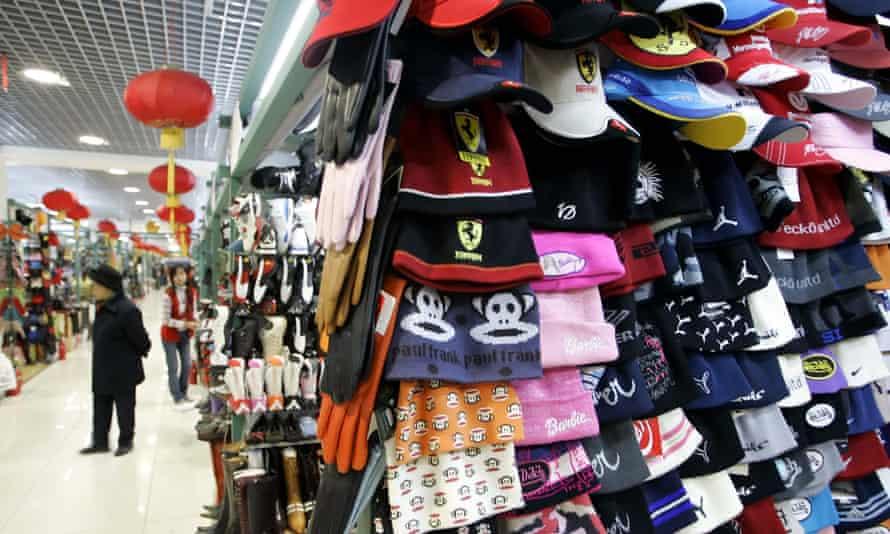 Silk Street shopping complex in Beijing