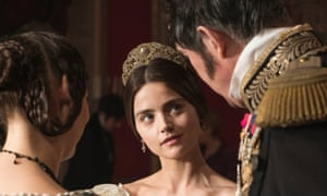 Head to head … Strike has been scheduled against the ITV series Victoria, starring Jenna Coleman.
