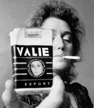 Valie Export features in an image entitled Smart Export