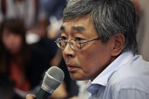 Lam Wing-kee, one of the Hong Kong booksellers who was taken into custody in mainland China
