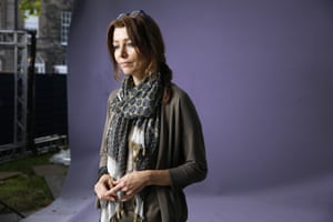 Turkish writer Elif Shafak, whose latest novel, 10 Minutes 28 Seconds in This Strange World, is nominated for the Booker prize.