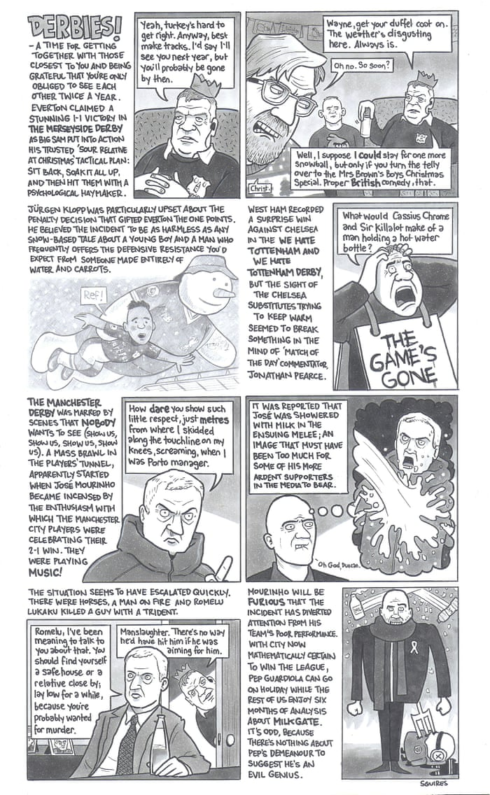 Own a David Squires cartoon | Art and design | The Guardian