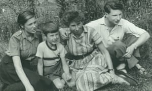 Maik Hamburger, right, with his mother Ursula (also known as Ruth Werner) and his half-siblings, Janina and Peter, shortly after the family settled in East Berlin. His mother was a housewife who had a double life as a Soviet spy