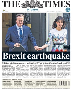 The Times Saturday 25th June 2016