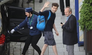 Sam Altman, president of Y Combinator, a Silicon Valley accelerator that has helped to launch hundreds of technology start-ups, attends a conference in Dresden, Germany in 2016.