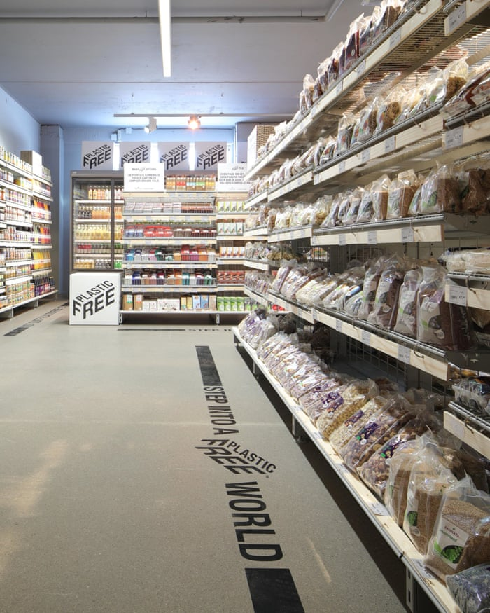World's first plastic-free aisle opens in Netherlands