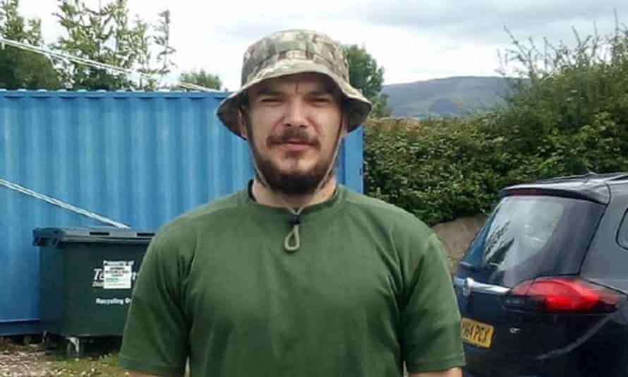 Aidan James, who was cleared at the Old Bailey of training with Kurdish YPG groups in Syria.