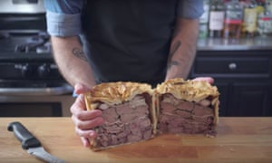 Binging With Babish host Andrew Rea attempts to recreate the purple wedding pigeon pie from Game of Thrones.