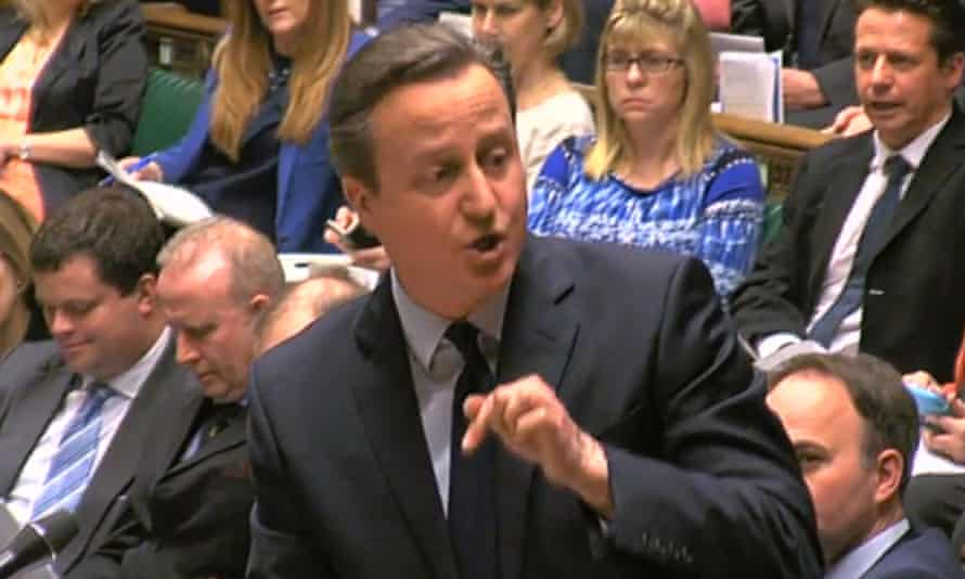 David Cameron took the opportunity to sing the praises of both Iain Duncan Smith and George Osborne.