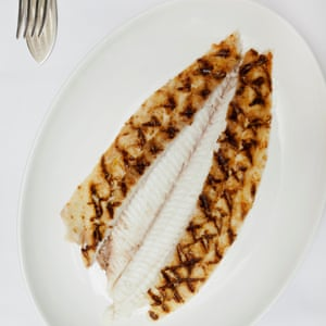 Dover sole on the Bone.